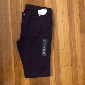 Uniqlo eggplant purple jeans